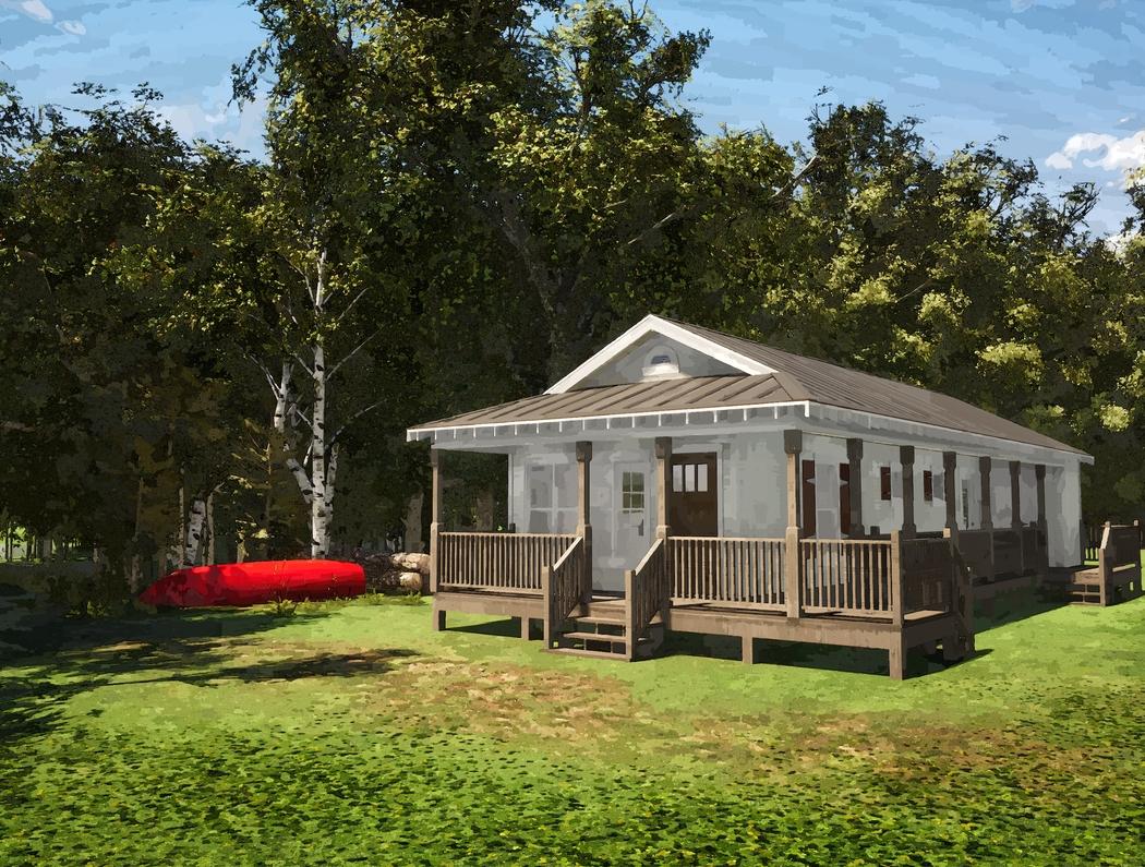 Mills River Cottage